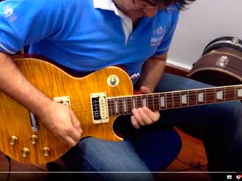 Review de Equipamentos  Réplica – Slash Signature - Escola de Música – Blue Note Rio Preto